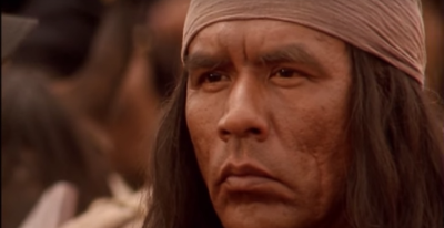 Columbia Pictures  Wes Studi as Geronimo.