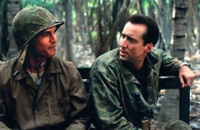 MGM  Adam Beach with Nicholas Cage in Windtalkers.